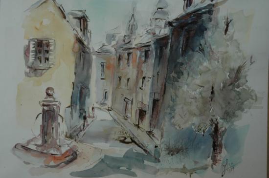 Rue centre ville (Lille Adam)