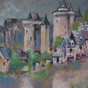 Chateau en bord de Loire