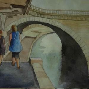 Le pont Napoleon Paris
